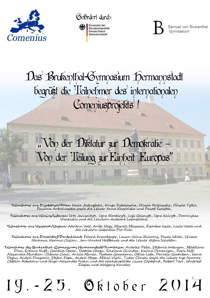 Comenius Plakat neu