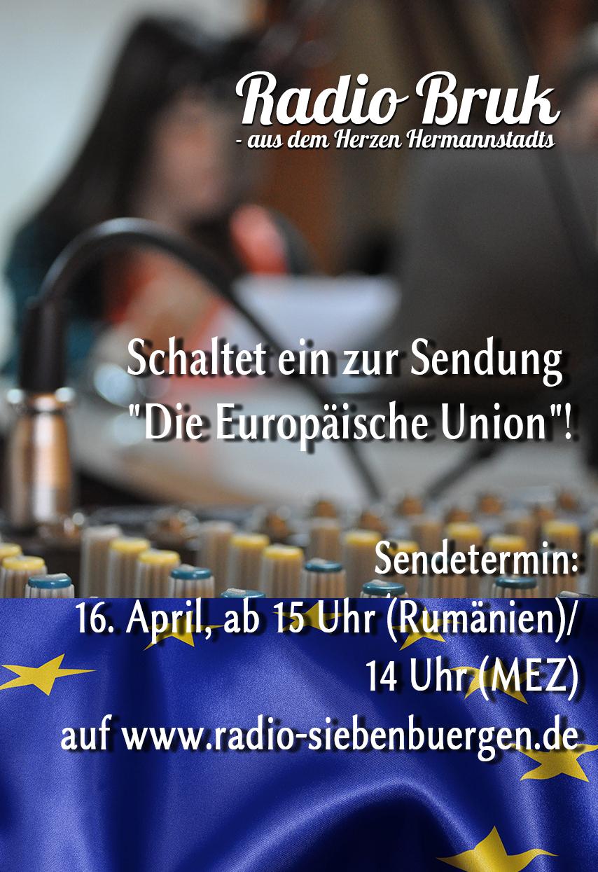 Radiosendung Europa 16.4.16