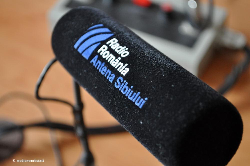 Besuch bei Antena Sibiului 1