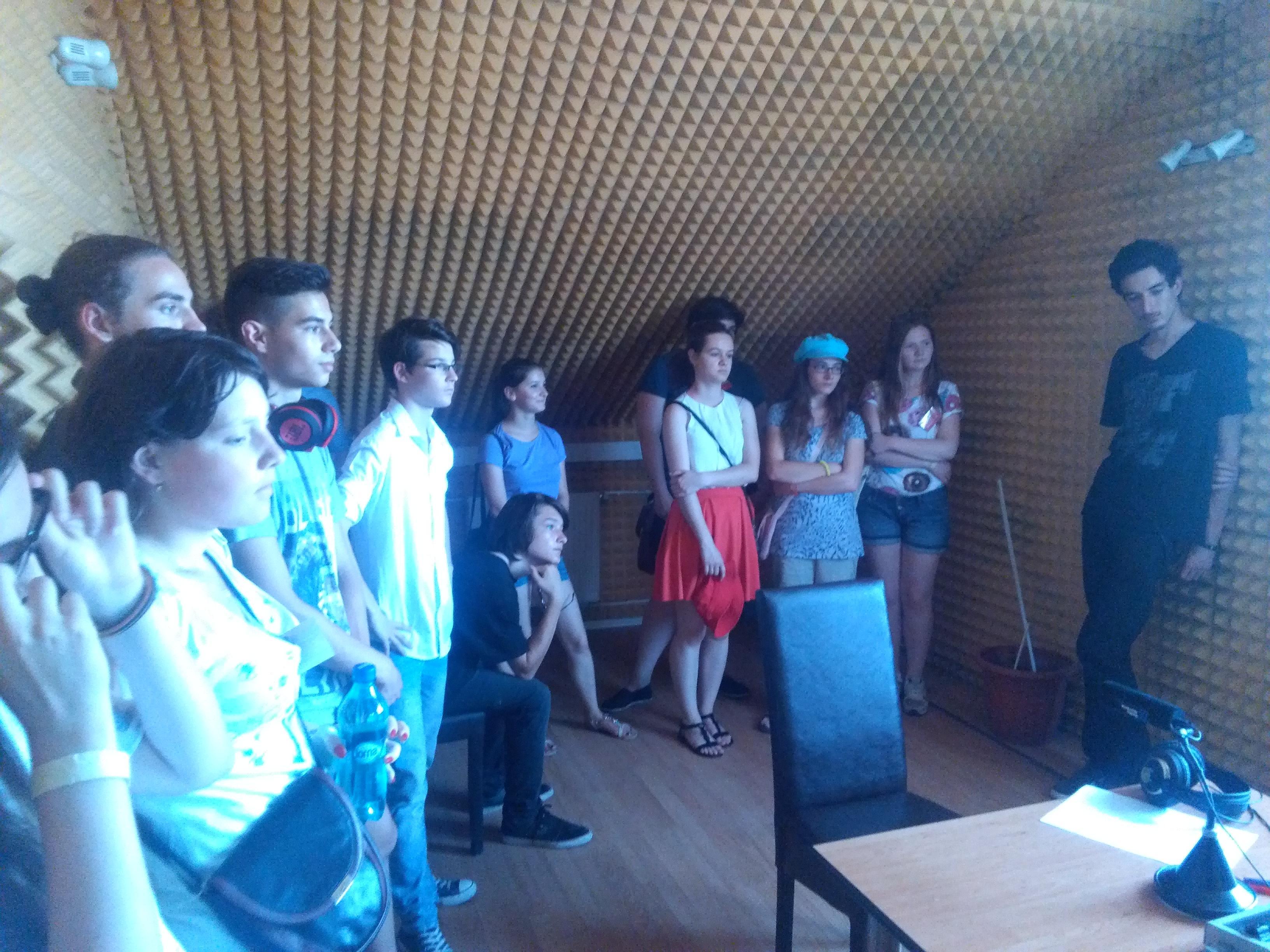 Besuch bei Antena Sibiului 3
